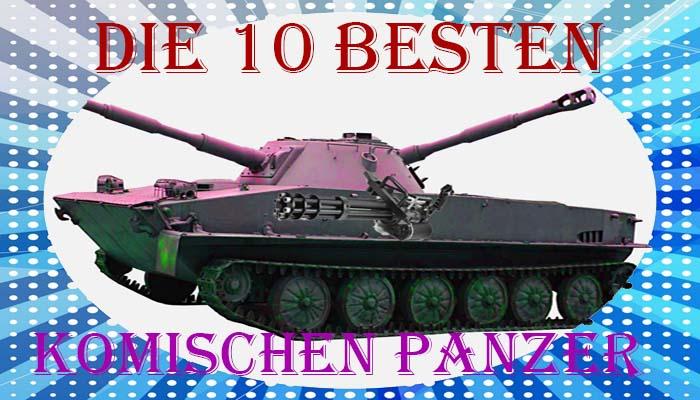 besten komischen Panzer