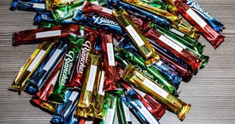 Schokoladen Test mit Branches