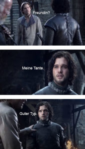 Game of Thrones Memes deutsch