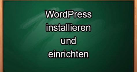 wordpress installieren und einrichten Logo
